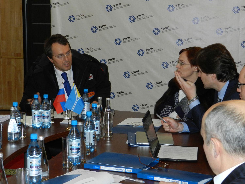 Ruslan Sulimovich Baysarov at the workshop