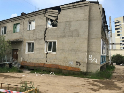 More than one million square meters of emergency housing will be resettled in Yakutia