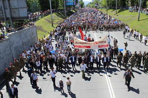 """The procession of the """"Immortal regiment"""" again rescheduled"""