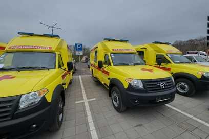 New reanimobiles sent to Kamchatka