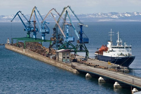 Possible construction of new ferries for the line Vanino - Kholmsk