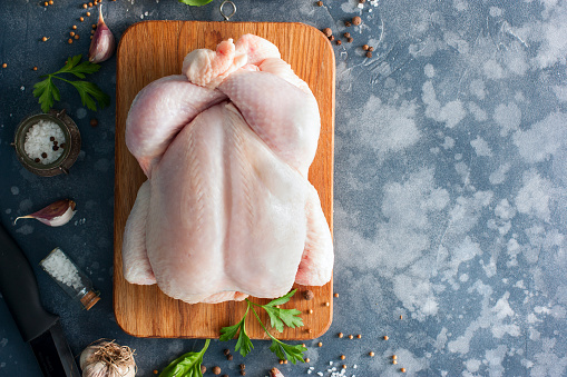 Wholesale prices for chicken began to decline