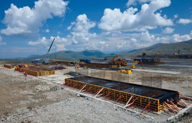 The foundation of the processing plant at the Udokan copper deposit was laid in Transbaikalia.