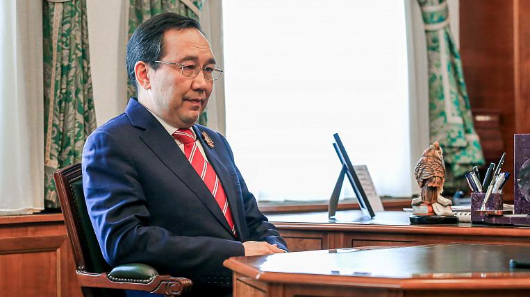 The head of Yakutia: the republic reaches a plateau along the coronavirus