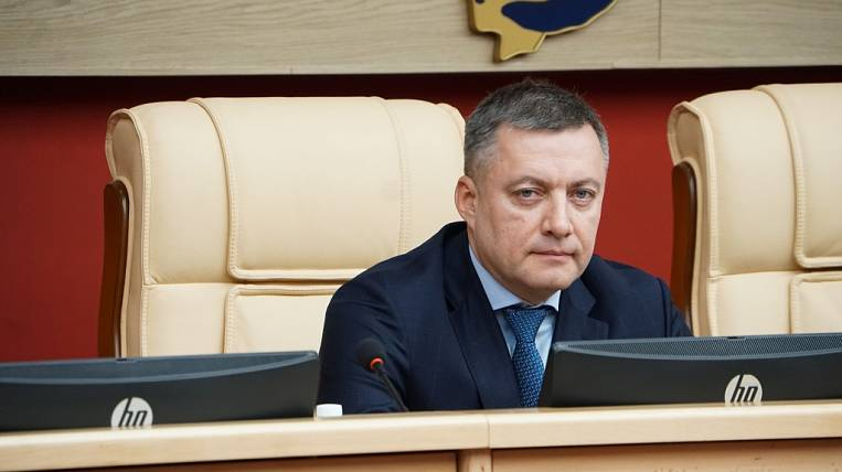 Igor Kobzev officially took office as Governor of Priangarye