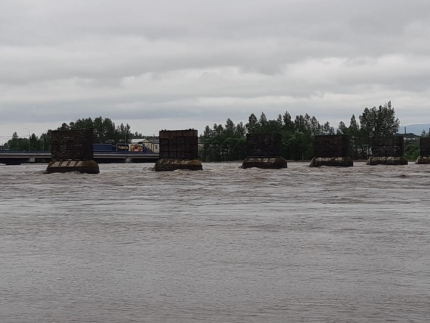In the Irkutsk region, more 400 houses were flooded