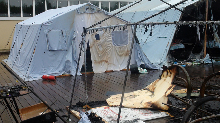 """The court made a new decision in the case of a fire in the camp """"Holdomi"""""""