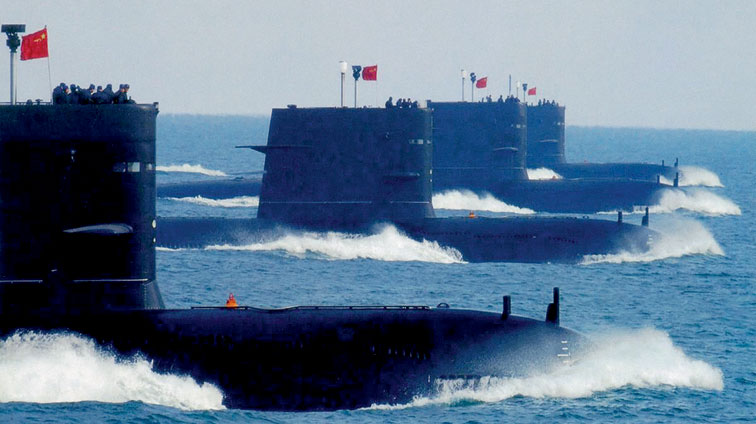 Chinese sea threat