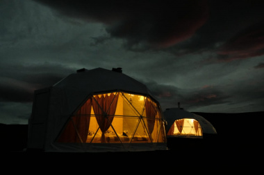 The first glamping on a DV-hectare opened in Chukotka
