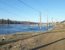 The flood led to the flooding of residential buildings in Yakutia