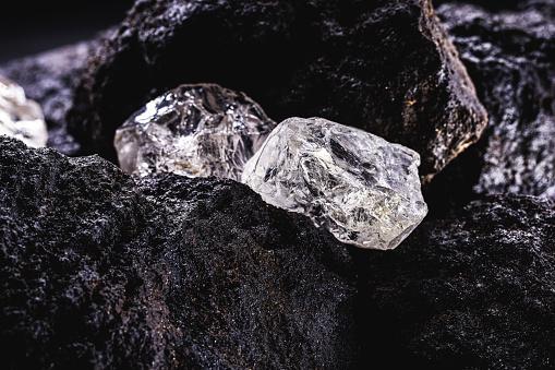Almazy Anabara company halved diamond production
