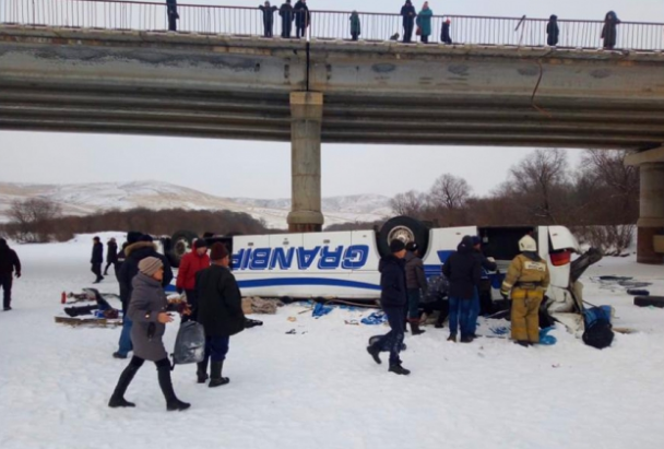 A bus accident in Transbaikalia claimed the lives of two children