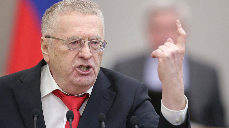 Zhirinovsky: They wanted to remove the van as a month ago