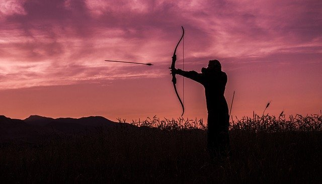Bow and crossbow equated to hunting weapons