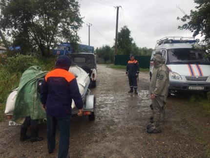Emergency mode announced in Birobidzhan due to flood