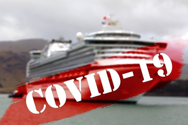 Russian woman became infected with a coronavirus on board a cruise ship