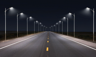 Chukotka roads are equipped with intelligent lighting systems