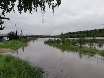 Floods flooded two villages in the Irkutsk region