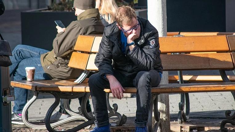 Coronavirus-induced unemployment declines in Khabarovsk