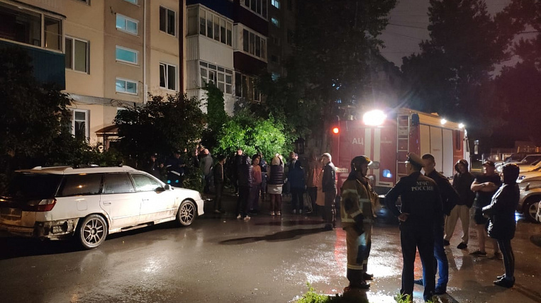 Residents of a victim of a house explosion in Sakhalin will be relocated to a hotel