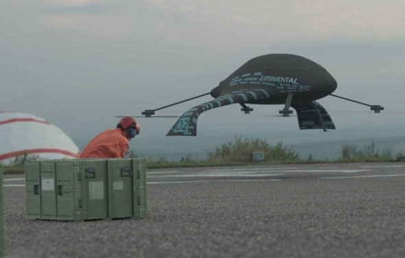 For flights in the Far Eastern Federal District, an unmanned aerial taxi is being developed