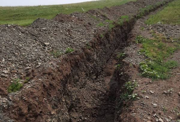 A large fine threatens a legal entity for a four-km trench in Buryatia