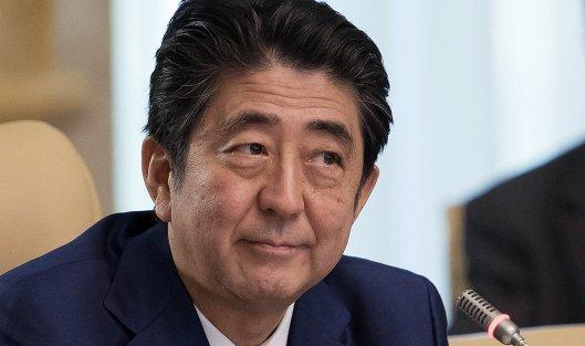 Five-year-old Shinzo Abe