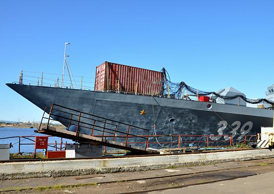New corvette for the Pacific Fleet surrendered in the Khabarovsk Territory