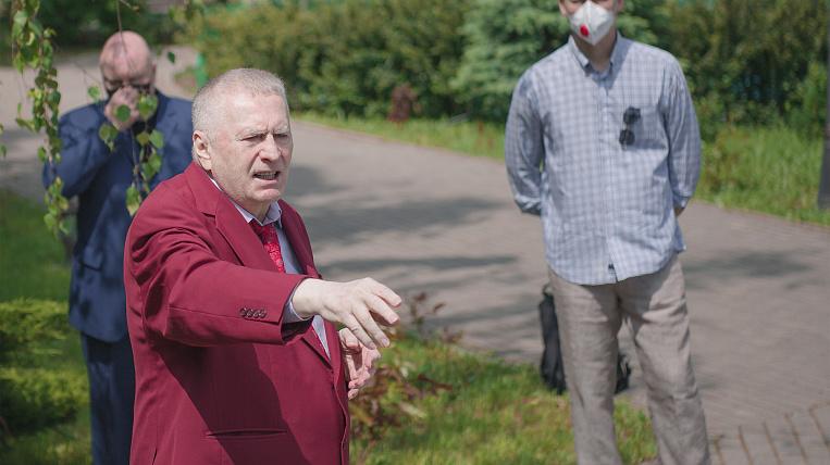 Zhirinovsky appreciated the work of Degtyarev in the Khabarovsk Territory