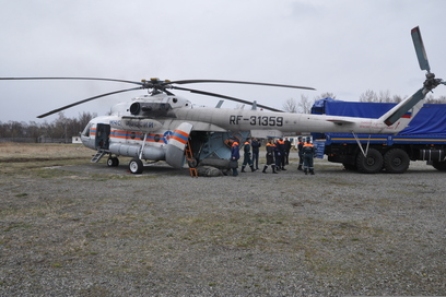 Mobile first-aid post sent to the east of Kamchatka
