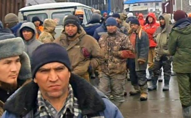 On the Kuril Islands, builders are on strike for the second day due to non-payment of wages