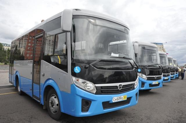 The first batch of new buses arrived in Chita