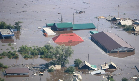 Re-examination of flooded houses began in Angara