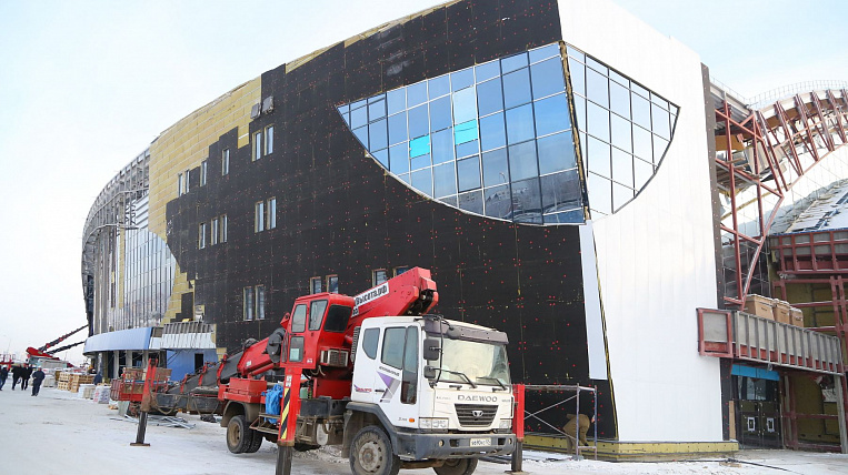 The authorities of Angara region want to receive compensation for the ice palace