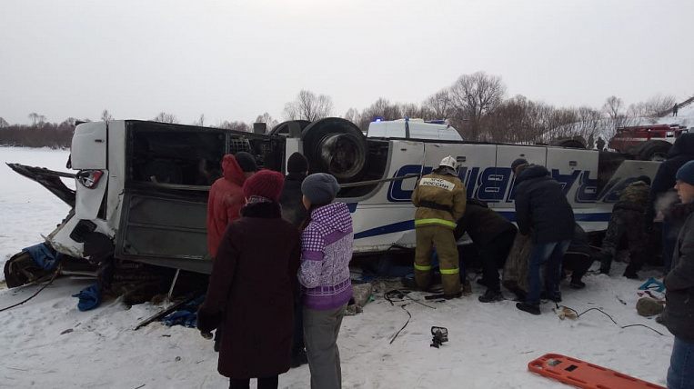22 million rubles transferred to victims of road accident with a bus in Transbaikalia