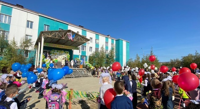 A teenager came to a school playground with a pistol in Yakutia