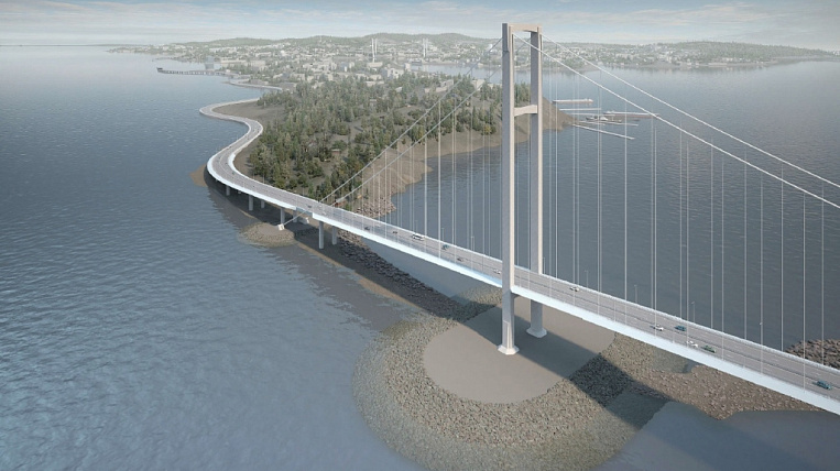 A new bridge to the Russian island will begin to be built in 2021