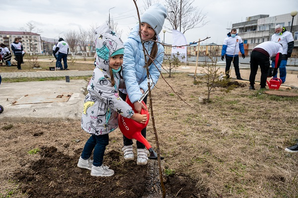 """""""Garden of Generations"""" was laid by the employees of the All-Russian State Conservatory"""