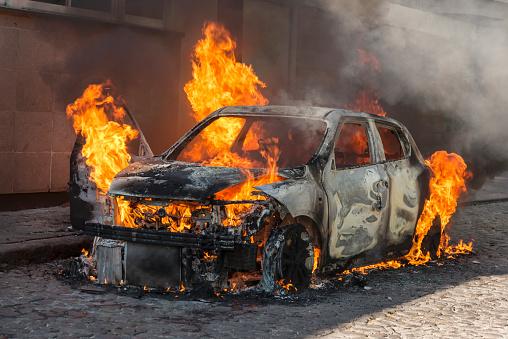 Cars of two deputies were burned in the Amur region