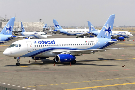 Mexican airline gets rid of Russian Superjets