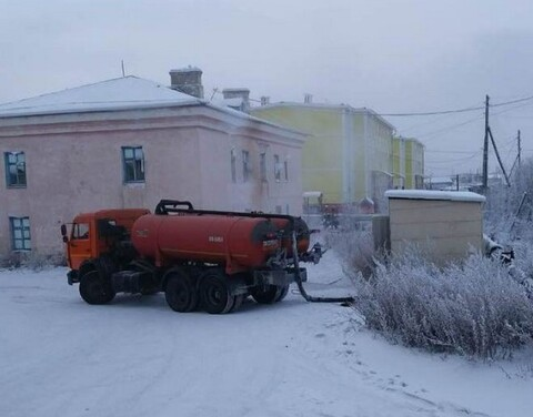 Emergency mode introduced in two Yakut villages