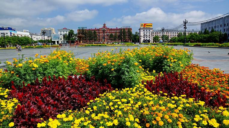 The top ten leaders include socio-economic projects of Khabarovsk