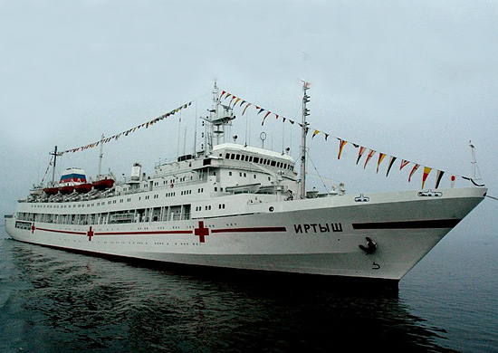 The floating hospital will prepare the Ministry of Defense for the Far East