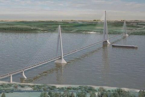 To build the Lensky bridge in Yakutia a year earlier