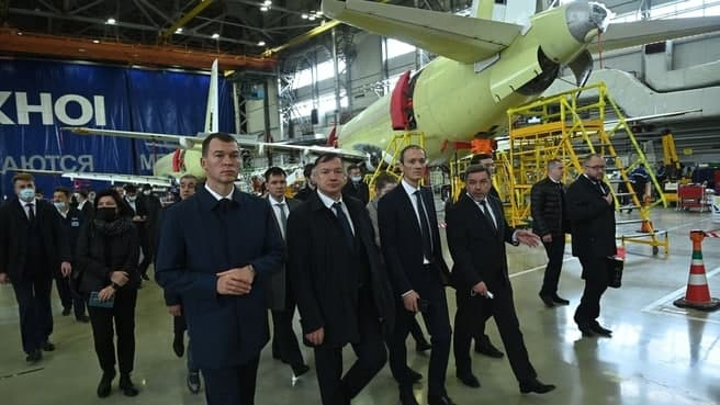 Deputy Prime Ministers checked the progress of work at the facilities in Komsomolsk-on-Amur