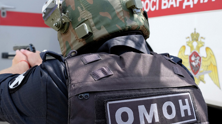 Rosgvardeytsa in Buryatia will be punished for the call not to detain protesters