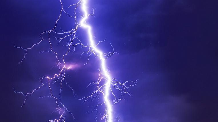 Storm warning re-announced in Amur region