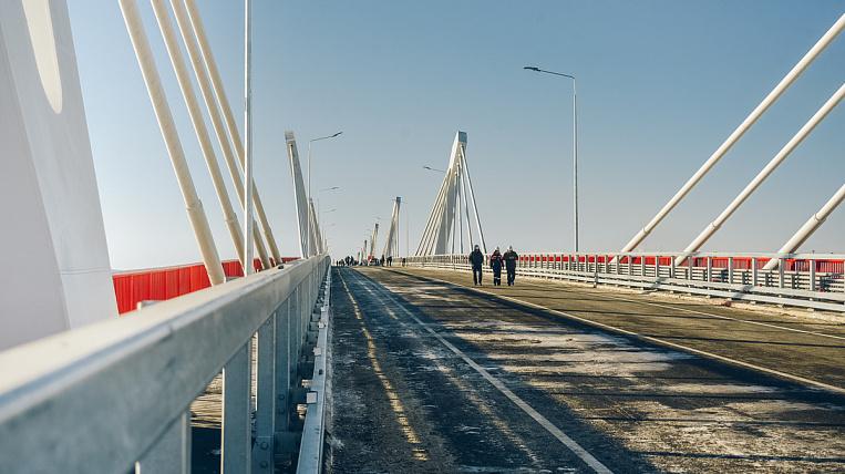 Rostec accepted the Blagoveshchensk-Heihe bridge
