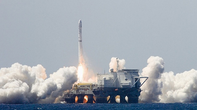 A floating spaceport from the United States will arrive in Primorye in March