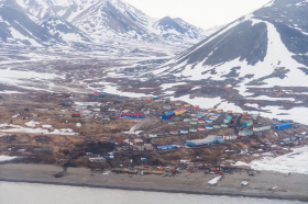 The victims of the hurricane were offered temporary housing in Chukotka